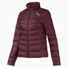 PWRWARM X packLITE 600 Damen Daunenjacke, Vineyard Wine, small