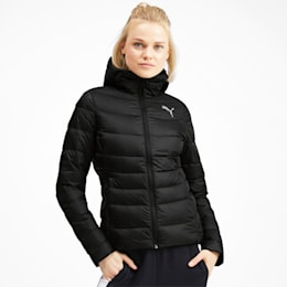 PWRWarm packLITE Down Women's Jacket, Puma Black, small