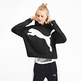 Modern Sports Women's Hoodie, Puma Black, small