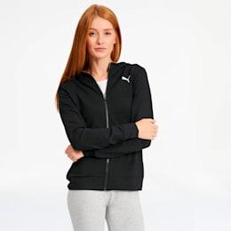 Modern Sports Women's Full Zip Logo Hoodie