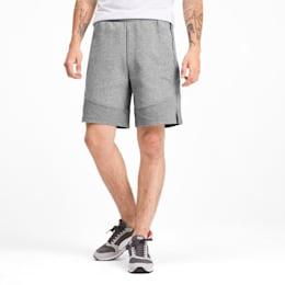 Evostripe Men's Shorts, Medium Gray Heather, small