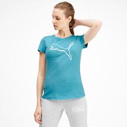 Athletics Women's Tee, Milky Blue, small