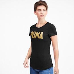Athletics Women's Tee, Puma Black, small
