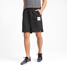 Tec Sports Men's Woven Shorts, Puma Black, small-IND