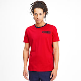 Athletics Men's Elevated Tee, High Risk Red, small-IND
