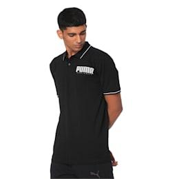 Athletics Men's Polo Shirt, Puma Black, small-IND