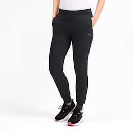 Knitted Women's Pants, Puma Black, small-IND
