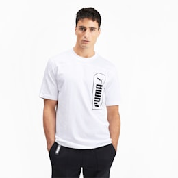 NU-TILITY Graphic Men's Tee, Puma White, small