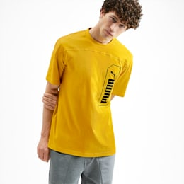 NU-TILITY Graphic Men's Tee, Sulphur, small-IND
