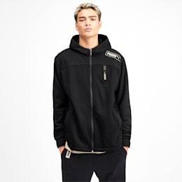NU-TILITY Men's Knit Jacket, Puma Black, small