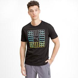 Brand Graphic Men's Tee, Puma Black, small-SEA