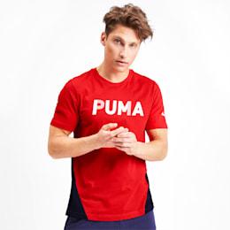 Modern Sports Advanced t-shirt til mænd, High Risk Red, small