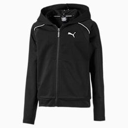 Active Sports træningsjakke til piger, Puma Black, small