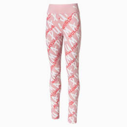 Alpha Mädchen Leggings, Bridal Rose, small