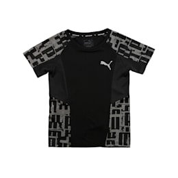 Active Sports Boys' Tee, Puma Black, small-IND