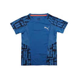 Active Sports Boys' Tee, Galaxy Blue, small-IND