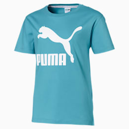 Classics Mädchen T-Shirt, Milky Blue, small
