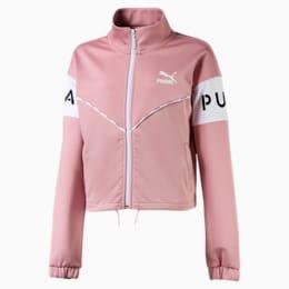 PUMA XTG Girls' Track Jacket JR, Bridal Rose, small