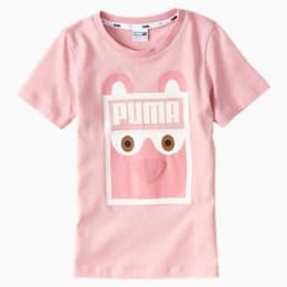 Monster Kinder T-Shirt, Bridal Rose, small