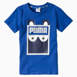 T-shirt Monster, nouveau-né + tout-petit, Bleu galaxie, petit