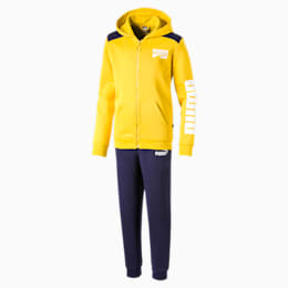 Rebel Boys' Sweat Suit, Sulphur, small
