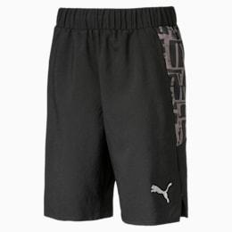 Active Sports Woven Boys' Shorts, Puma Black, small