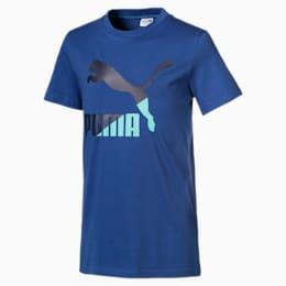 Classics t-shirt med korte ærmer til drenge, Galaxy Blue, small