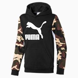 Classics hættetrøje til drenge, Puma Black, small