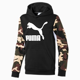 Sweat à capuche Classics pour garçon, Puma Black, small