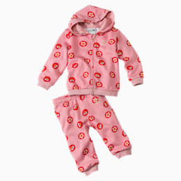 Sesame Street Graphic Babies' Jogger Set, Bridal Rose, small
