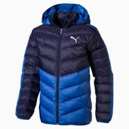 Active Boys' Jacket, Galaxy Blue-Peacoat, small