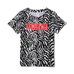 PUMA x SOPHIA WEBSTER Girls' AOP Tee