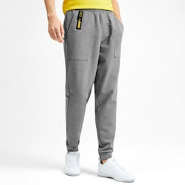 NU-TILITY Knit Men's Sweatpants, Medium Gray Heather, small