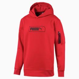 Chaqueta con capucha NU-TILITY para hombre, High Risk Red, pequeño