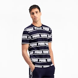 Amplified Men's Tee, Peacoat, small-IND