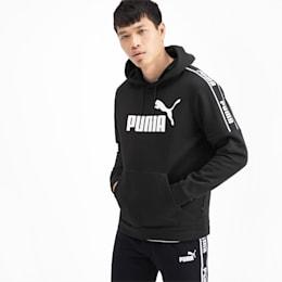 Sweat à capuche Amplified pour homme, Puma Black, small