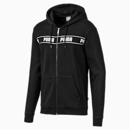 Amplified Men's Hooded Jacket, Puma Black, small