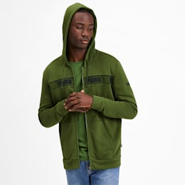 Amplified Men's Hooded Jacket, Garden Green, small