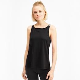 Soft Sports Women's Tank Top, Puma Black, small-IND