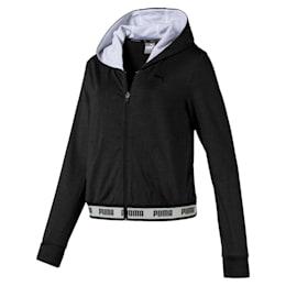 SOFT SPORTS Hooded Women's Sweat Jacket