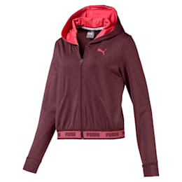 SOFT SPORTS Hooded Women's Sweat Jacket