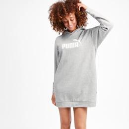 Amplified Women's Dress, Light Gray Heather, small