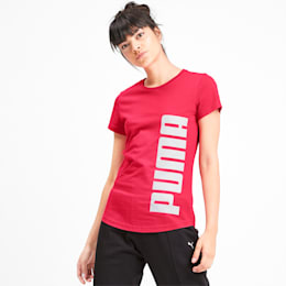 Rebel Short Sleeve Women's Tee, Nrgy Rose, small-IND