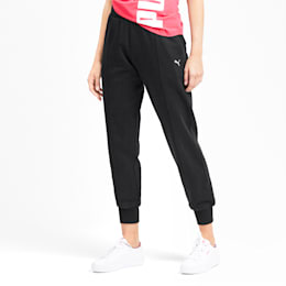 Rebel Full Length Women's Pants, Puma Black, small-IND