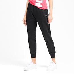 Rebel Women's Sweatpants, Puma Black, small