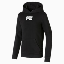 Rebel Jungen Hoodie, Puma Black, small