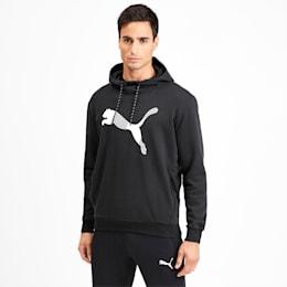 Modern Sports Men's Hoodie, Puma Black, small-IND