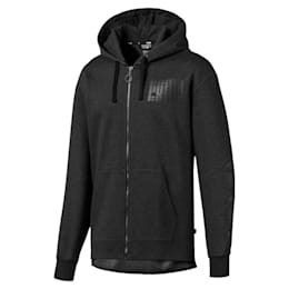 Rebel Bold Men's Fleece Full Zip Hoodie