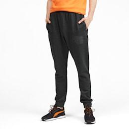 Rebel Bold Men's Sweatpants, Dark Gray Heather, small