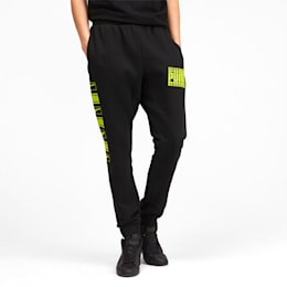 Rebel Bold Men's Sweatpants, Puma Black, small